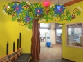 Library Tree Mural