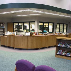 Ashwaubenon-HS-Circulation-Desk