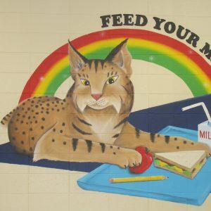 Black-Creek-School-Bobcat-Mural-2