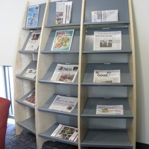 Forest-Lake-Public-Library-Display-Shelf