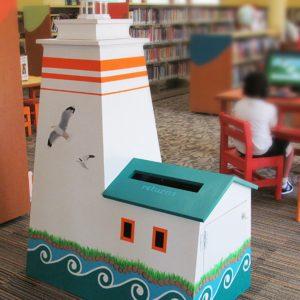 Portage-Public-Library-Lighthouse-Return-Bin