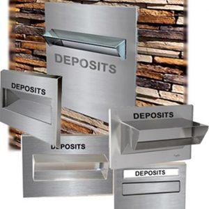 Thru-Wall-Deposits